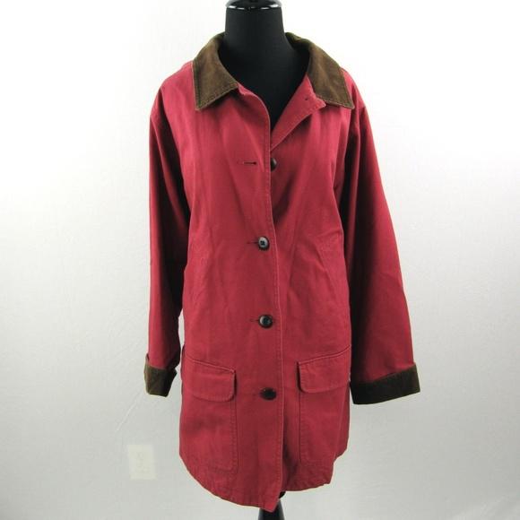 eaab1aa8389 L.L. Bean Jackets   Blazers - LL Bean Adirondack Field Barn Jacket Coat